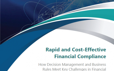 Rapid and Cost Effective Financial Compliance with Decision Modeling