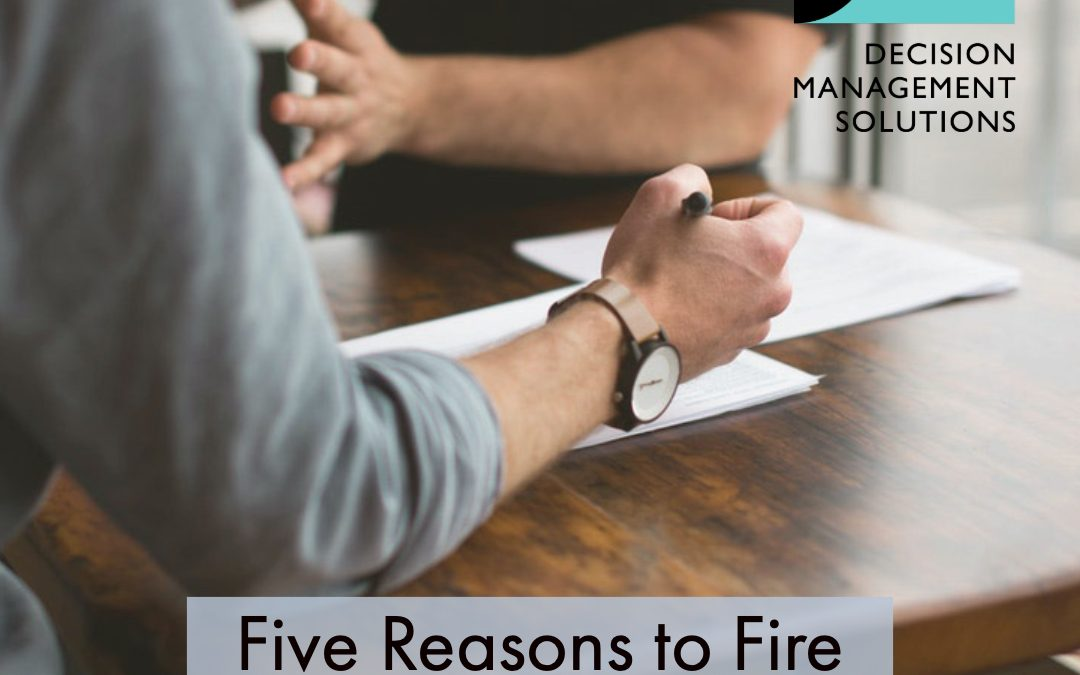Five Reasons to Fire Your Rules Consultant