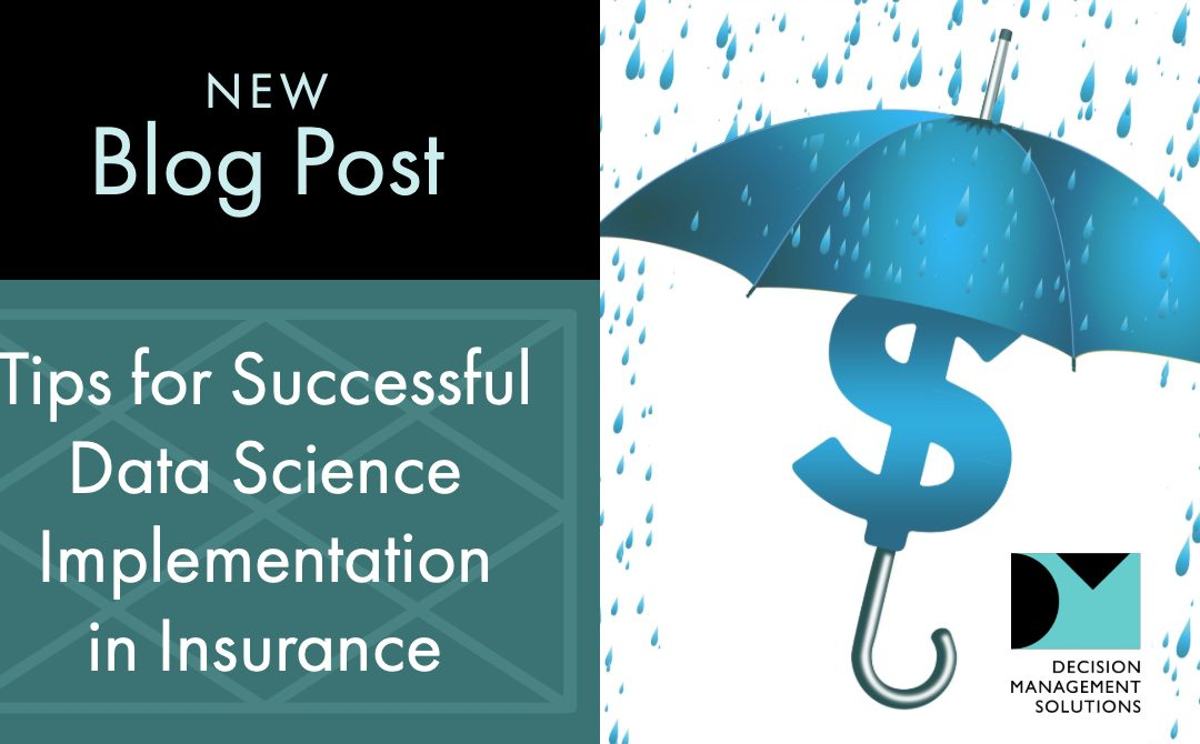 Tips for Successful Data Science Implementation in Insurance