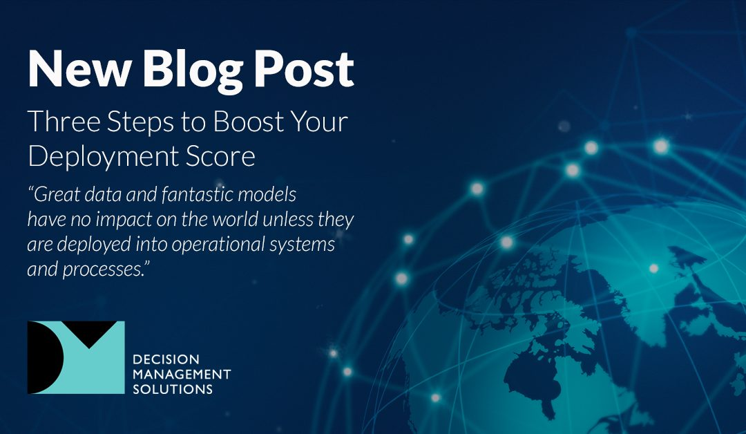 Three Steps to Boost Your Deployment Score