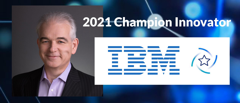 CEO James Taylor Named 2021 IBM Champion Innovator