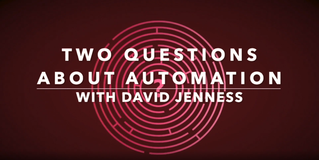 Ask James Taylor About Automation