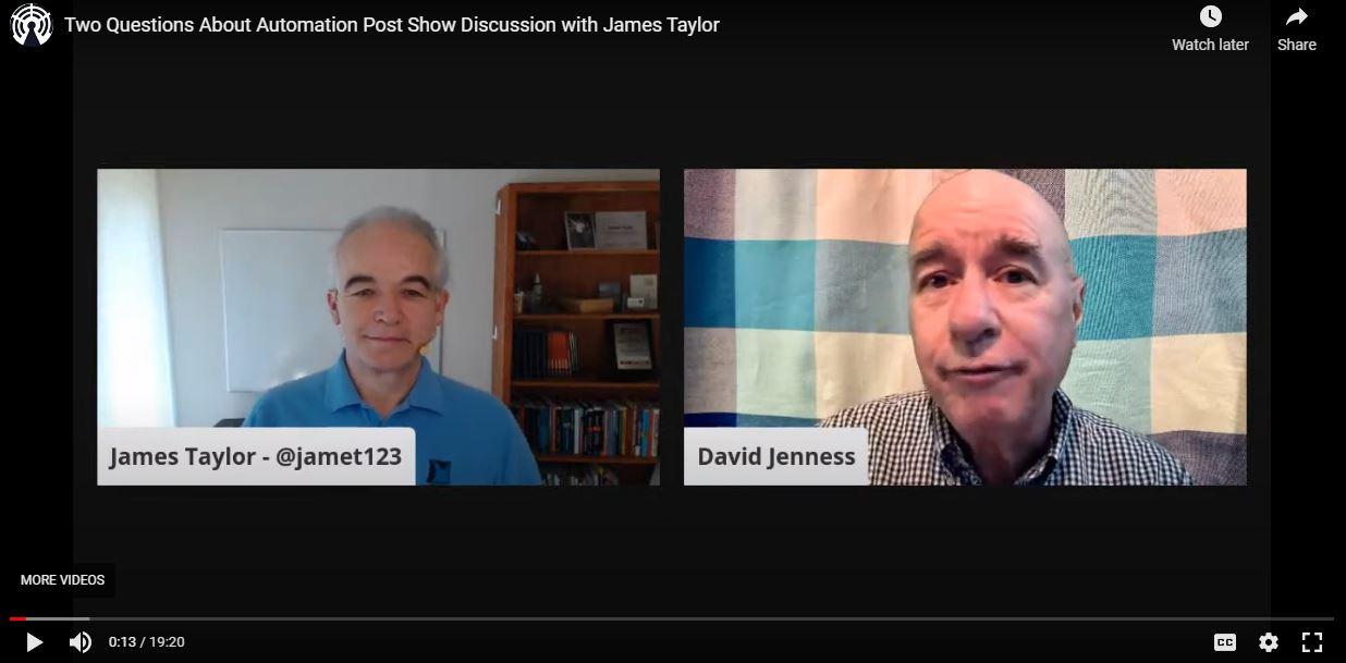 James Taylor on IBM ExpertTV